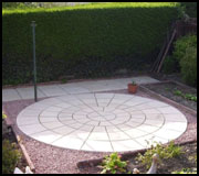 Round Patio Slab